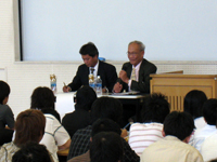 2008第1回法学会主催講演会1