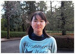 法学科 2015年3月卒業 是松 亜寿美さん
